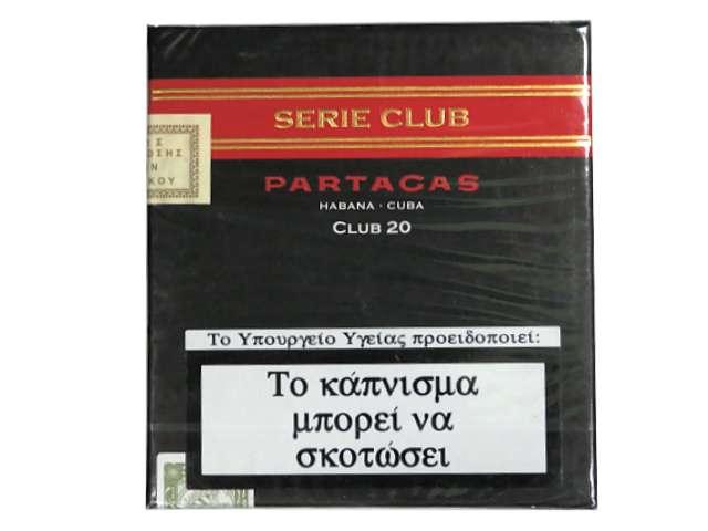 Partagas Serie Club 20