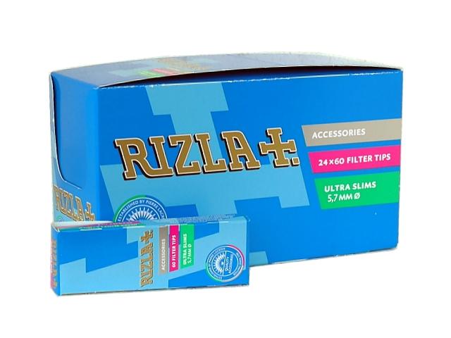 Φίλτρα Rizla Ultra Slim 60 κουτί με 24 πακετάκια των 60