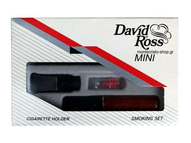 2495 - Πίπα για κανονικό τσιγάρο David Ross Mini Ξύλινη 201R