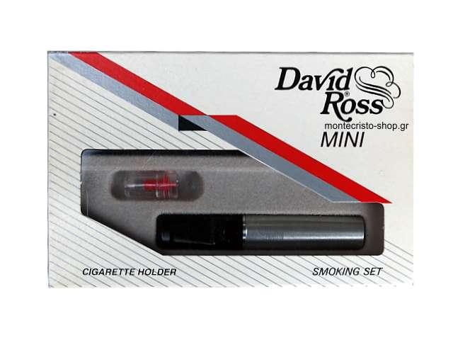 2497 - Πίπα για κανονικό τσιγάρο David Ross Mini N202 ασημί