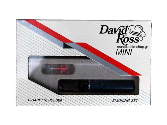 2498 - Πίπα για κανονικό τσιγάρο David Ross Mini N202 μπλε σκούρη