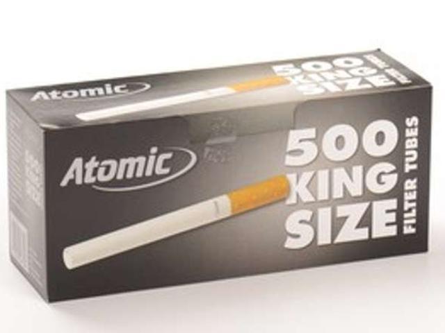 Άδεια τσιγάρα Atomic 500