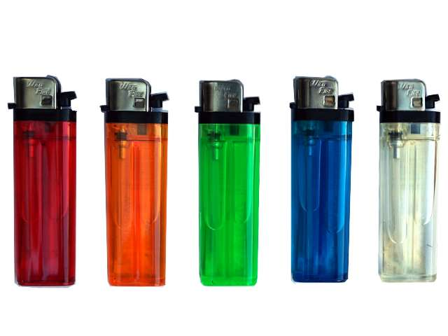 Αναπτήρας Wild Fire πλαστικός σε διάφορα χρώματα