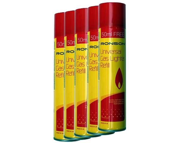 ��� �� 5 ����� ��������� Ronson Universal Gas Lighter Refil 300ml (Made in UK)