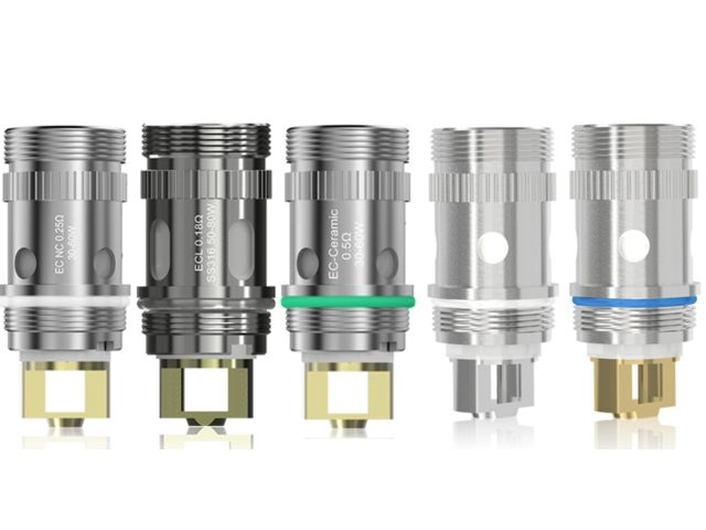 2543 - Ανταλλακτικές κεφαλές Eleaf Heads for MELO 3 Nano & IJUST 2 & MELO & MELO 2 & MELO III, & LEMO 3 & IJUST S (5 coils)