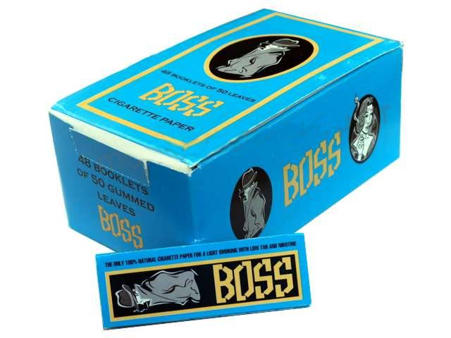 Κουτί με 48 χαρτάκια στριφτού BOSS