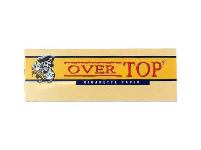 2563 - Χαρτάκια στριφτού Over Top κίτρινα