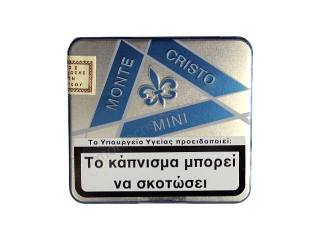 2590 - Montecristo mini blue 20s cigarillos μπλε