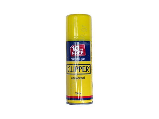 Αέριο αναπτήρων Clipper Butane gas 100ml