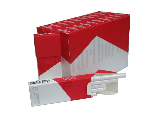 Κουτί με 20 φιλτράκια στριφτού Marlboro Extra Slim 60 pre-cut