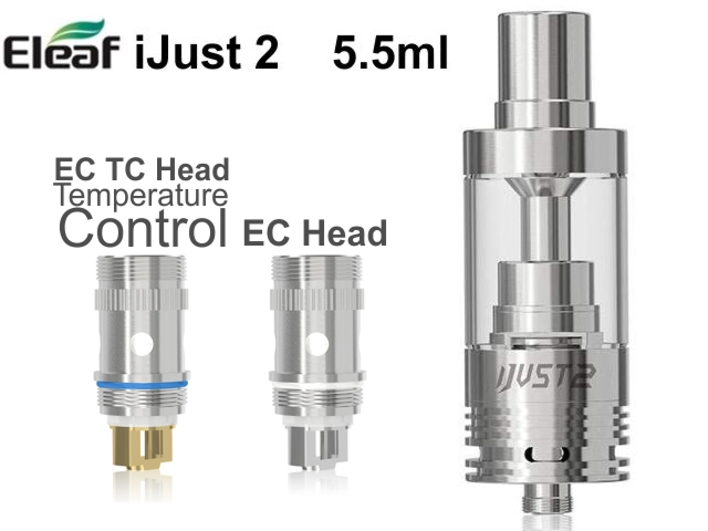 iJust 2 TC Eleaf Atomizer 5.5ml