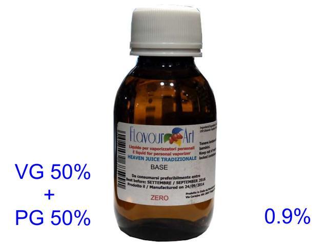 2668 - Ατμιστική βάση flavour art tradizionale (VG+PG) 0.9% νικοτίνη 100ml