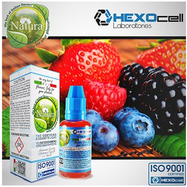 Natura Forest Fruit Mix - Φρούτα Δάσους 30ml