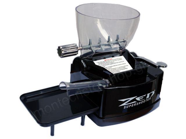 Ηλεκτρική μηχανή γεμίσματος άδειων τσιγάρων ZEN Supershooter (με έμβολο)