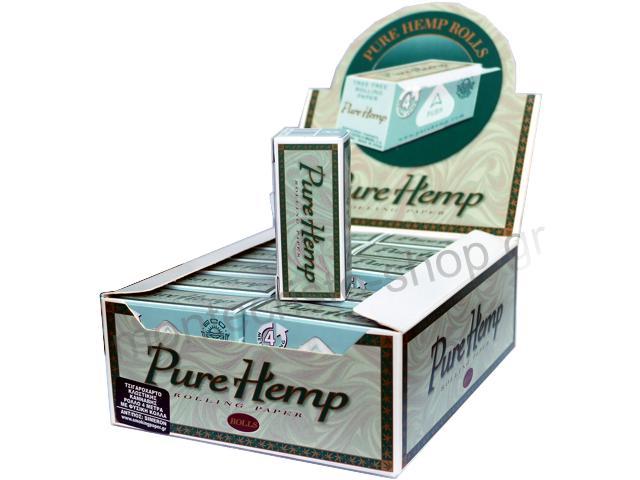 Κουτί με 24 Ρολά Pure Hemp 4 μέτρα