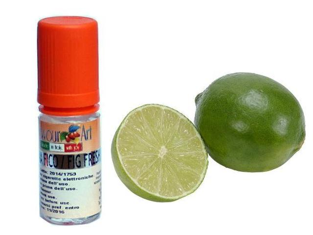 2870 - Άρωμα Flavour Art Lime Tahity Cold Pressed (Λαϊμ) 10ml