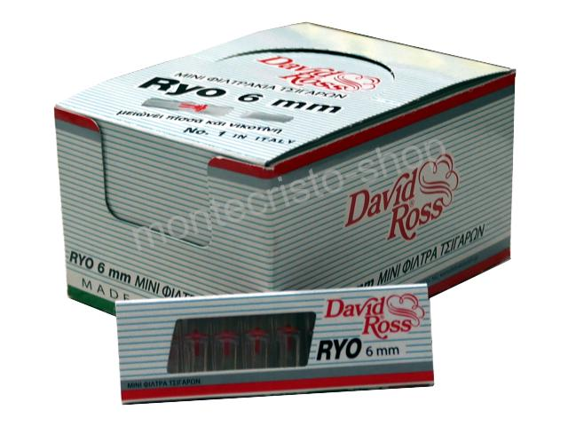 ����� �� 24 ������� �������� David Ross RYO Slim 6mm (made in Italy) (���� 0.28 �� ���)