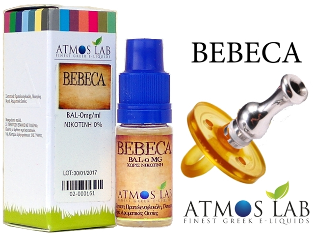 2943 - Atmos Lab Bebeca 10ml (Καπνικό)