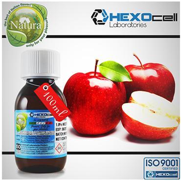 2944 - Natura Hexocell Red Apple (κόκκινο μήλο) 100ml