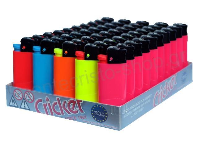 Κουτί με 50 αναπτήρες Cricket Mini Fluo