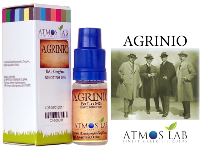 2985 - Atmos Lab AGRINIO (Καπνικό) 10ml