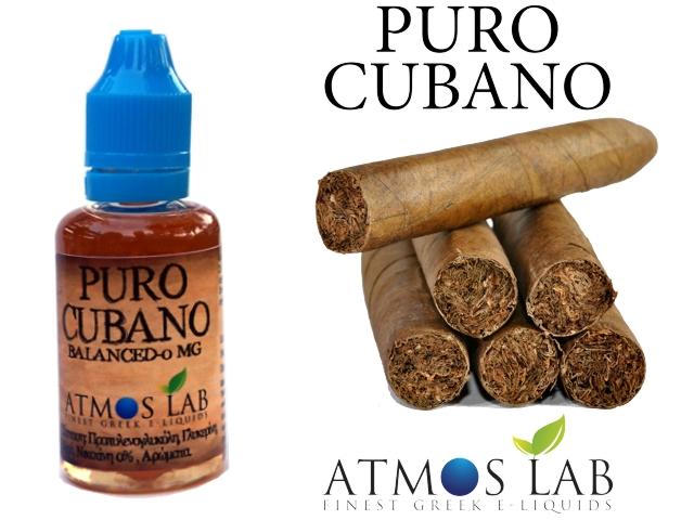 2986 - Atmos Lab PURO CUBANO 30ml (Κουβανέζικο Καπνικό)