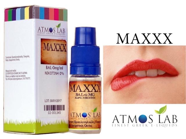 2995 - Atmos Lab MAXXX (Καπνικό με αρώματα) 10ml