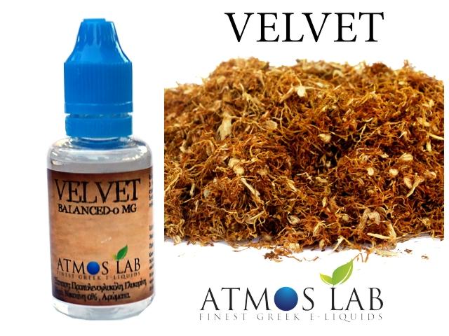 Atmos Lab VELVET (Ήπια Καπνικό)