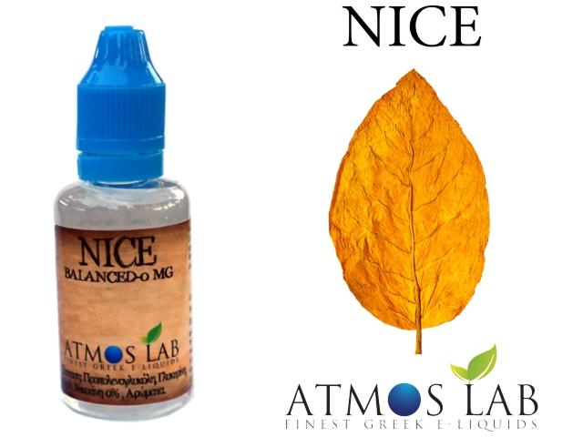 2999 - Atmos lab NICE 30ml (Ήπια Καπνικό)