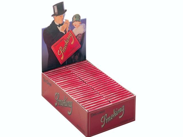 Κουτί με 50 χαρτάκια στριφτού Smoking ARROZ 1 1/4 μεσαία (τετράγωνο)