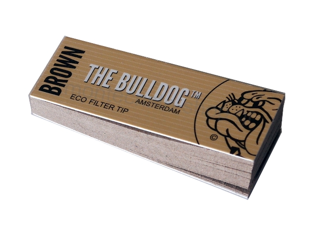 3041 - �������� Filter Tips THE BULLDOG AMSTERDAM Brown ECO