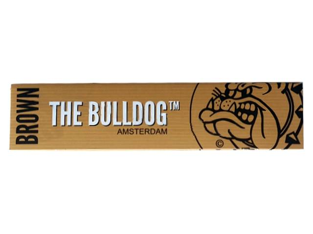 �������� �������� THE BULLDOG Brown Unbleached KING SIZE �����������