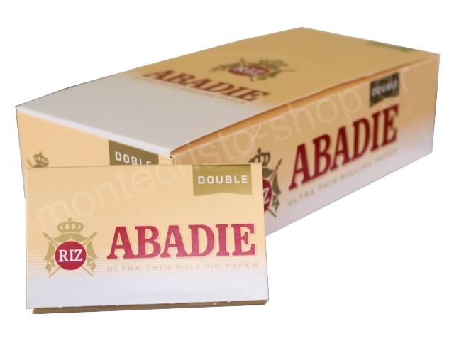 3046 - Κουτί με 25 χαρτάκια στριφτού ABADIE DOBLE