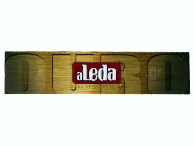 3053 - Χαρτάκια στριφτού aLeda OURO King Size Slim