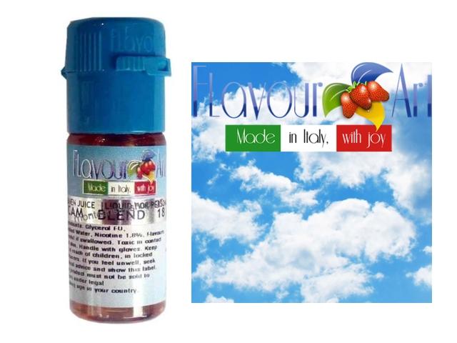 3060 - Υγρό αναπλήρωσης Flavour Art SUMMER CLOUDS 10ml (ροδάκινο και άνθος τριαντάφυλλο)