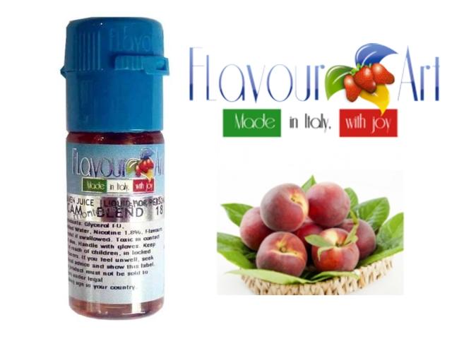 3061 - Υγρό αναπλήρωσης Flavour Art WHITE PEACH (Λευκόσαρκο ροδάκινο) 10 ml