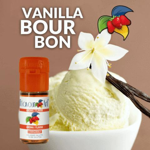 3080 - Άρωμα Flavour Art VANILLA BOURBON 10ml
