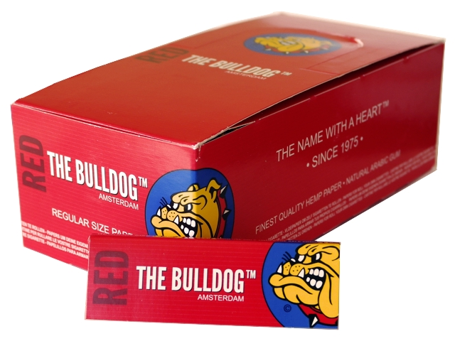 ����� �� 50 �������� �������� THE BULLDOG RED regular Hemp ��������