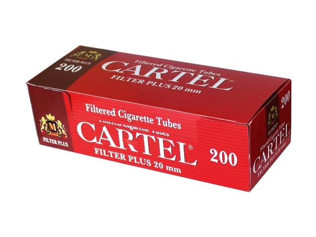 3137 - Άδεια τσιγάρα CARTEL 200 FILTER PLUS 20mm με μακρύ φίλτρο