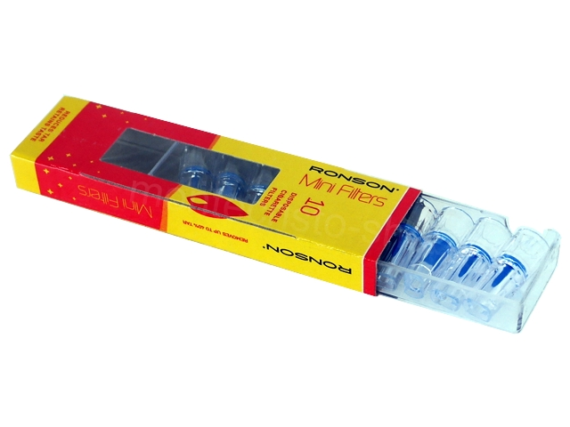Πιπάκια τσιγάρου Ronson Mini Filters για κανονικό τσιγάρο