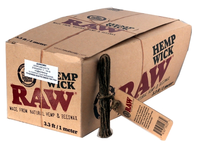 ����� �� 60 Raw Hemp Wick 1 �����