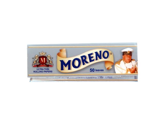 3192 - Χαρτάκια στιφτού MORENO Silver (ασημί)