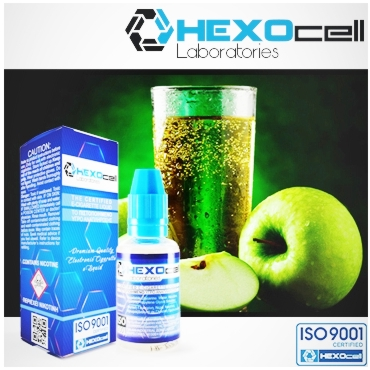 3245 - HEXOCELL APPLE SPARKLE 30ml (Μήλο και βύσσινο)