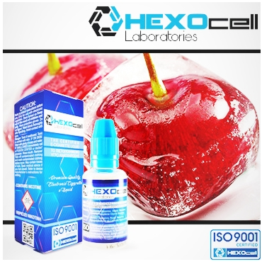 3246 - HEXOCELL CHERRY LIPS 30ml (Κεράσι μέντα)