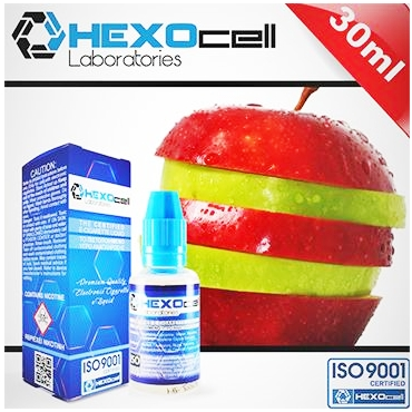 HEXOCELL DOUBLE APPLE 30ml (Μήλο)