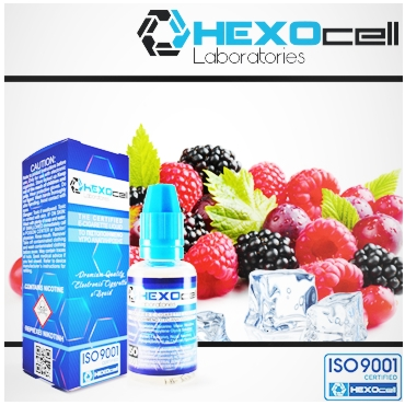 HEXOCELL Frozen Fruits 30ml (φρούτα & μέντα)