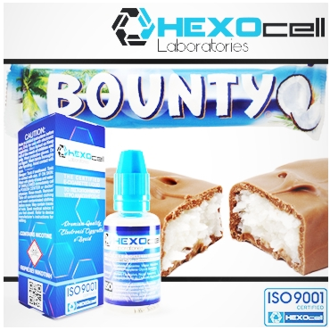 HEXOCELL READ ALL ABOU...NTY 30ml (καρύδα σοκολάτα)
