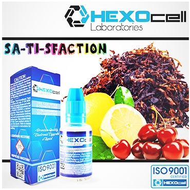 3261 - HEXOCELL SA-TI-SFACTION 30ml (καπνικό)