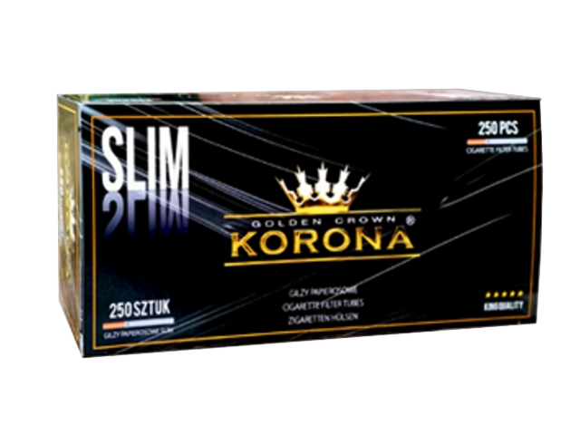 ����� ������� KORONA SLIM Golden Crown �� 250 �������������� ��� 80mm �����