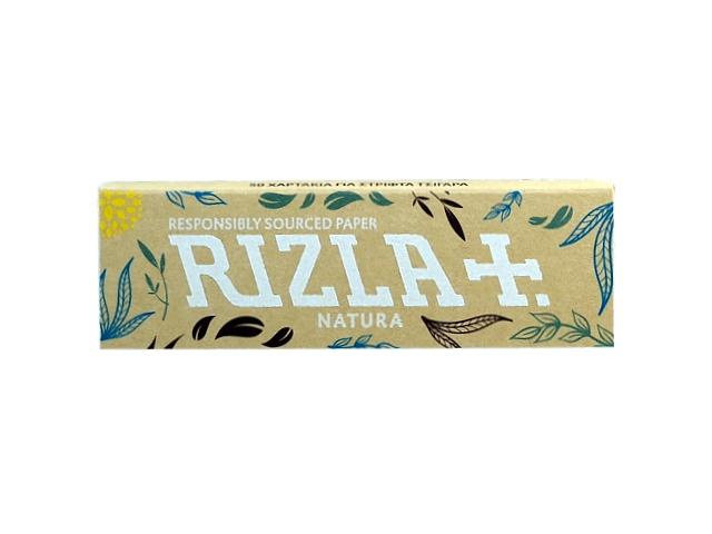 Χαρτάκια στριφτού Rizla Natura ακατέργαστα